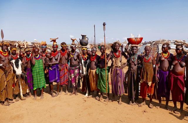 Dassanaech tribe, Ethiopia