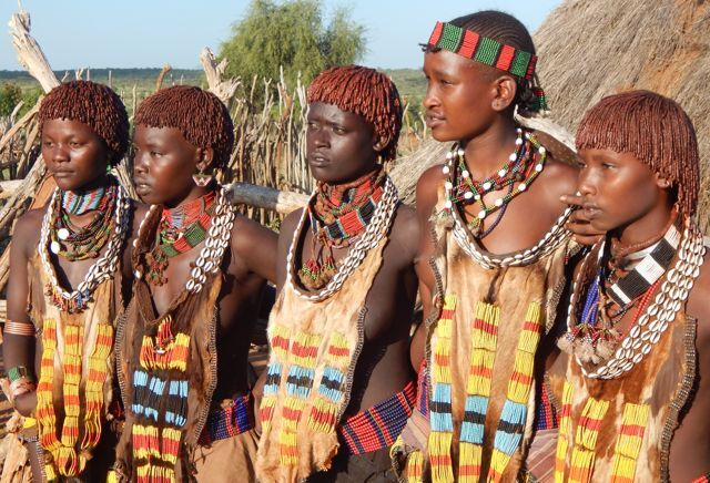 Hamer woman, Ethiopia